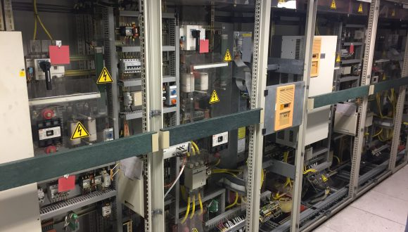 electrical installation for conveyor system