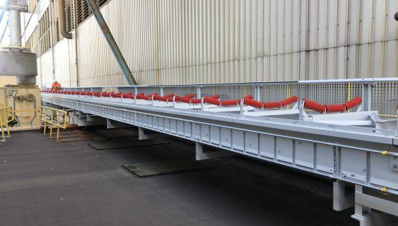 Elektrische installatie - transportband