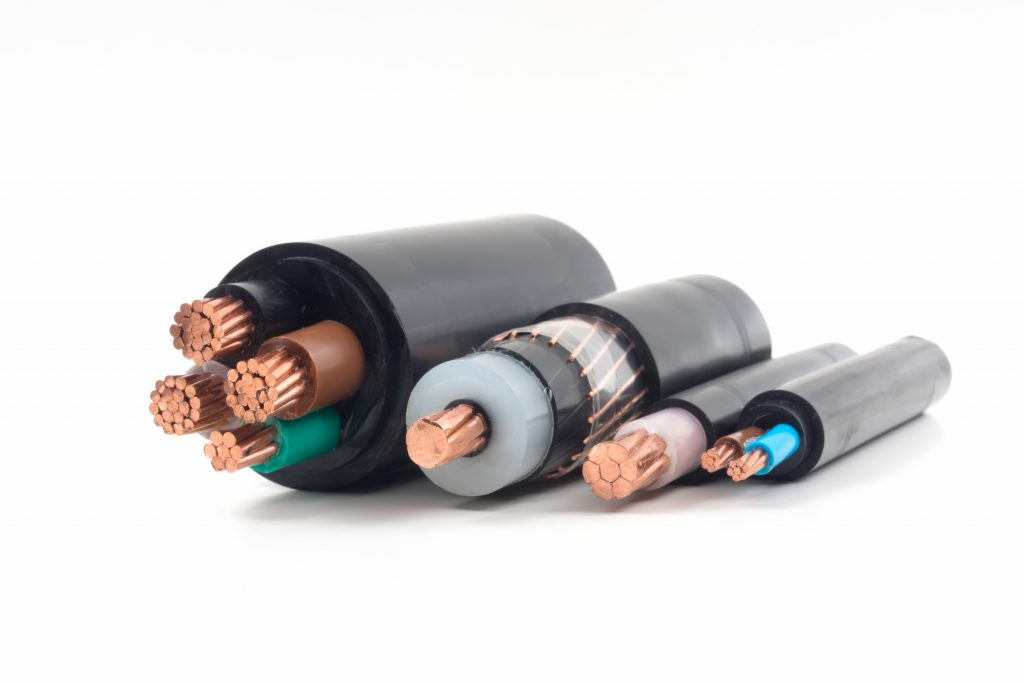 Electricity cables and installation cables