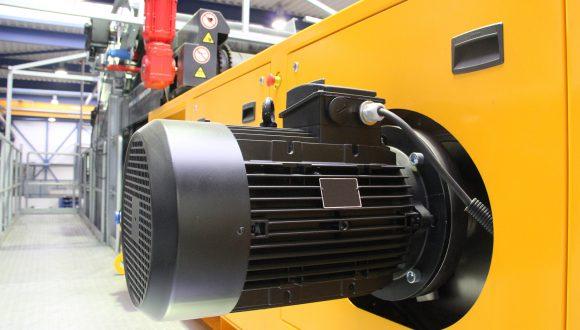 industriële motor Beemster