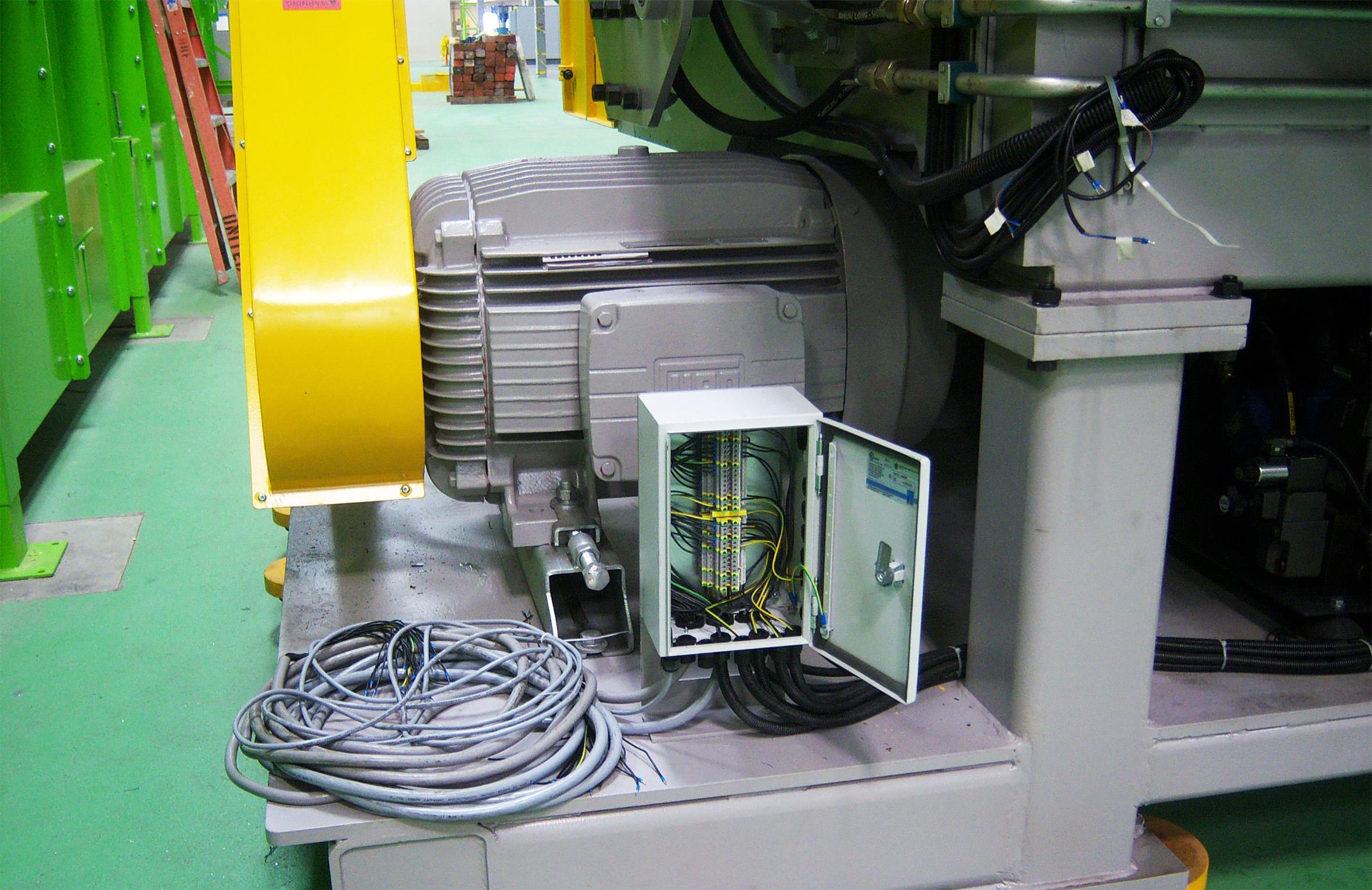 Industriële motoren met een vermogen van meer dan 4 kW