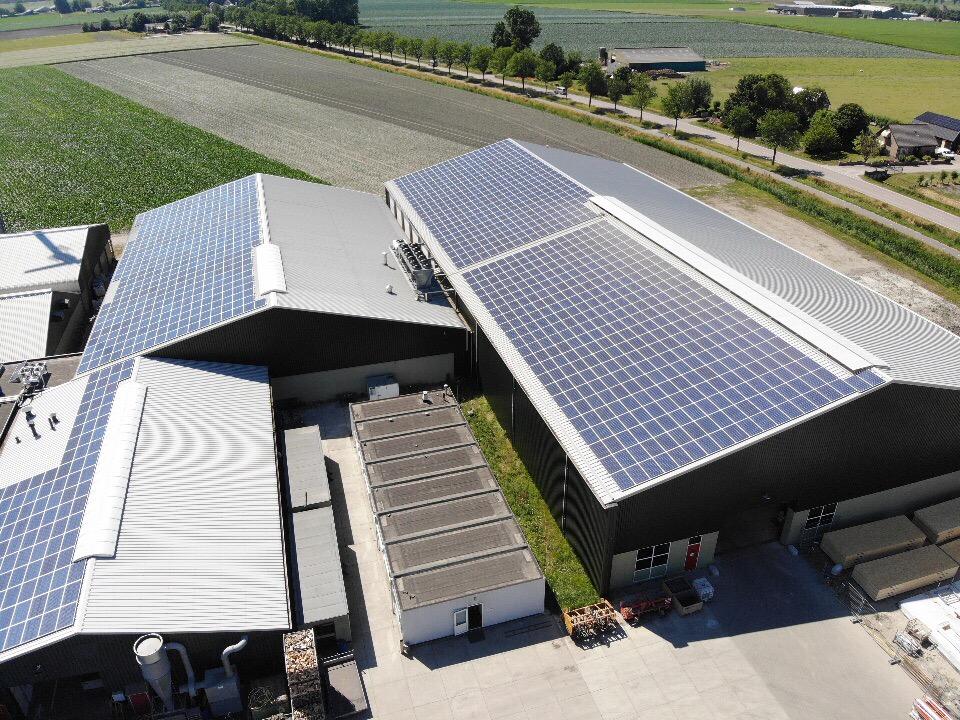 Solar panels – A.S. de Boer
