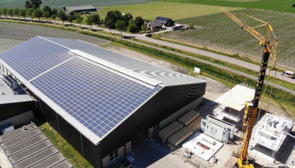 Zonnepanelen PV-installatie